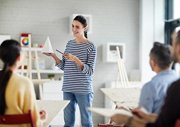 Art coaching